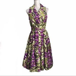 Jessica Howard Fit and Flare Floral Dress
